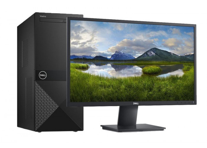 Desktop DELL Vostro 3671 (Core i3/4Gb DDR4) + DELL E2420H