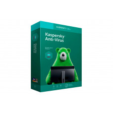 Kaspersky Anti-Virus (License for 2 PCs for 1 year Renewal Retail Pack)