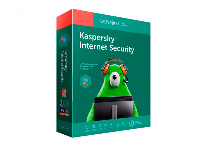 Kaspersky Internet Security (License for 5 PCs for 1 year Renewal Retail Pack)